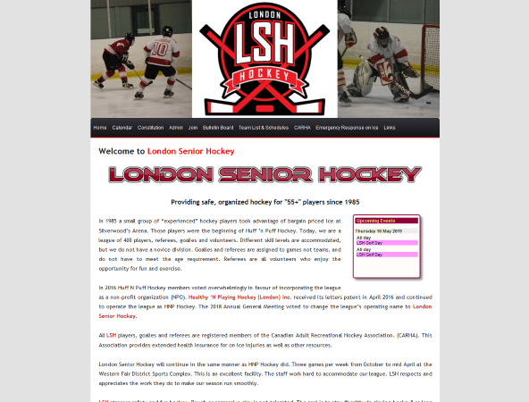 London Senior Hockey